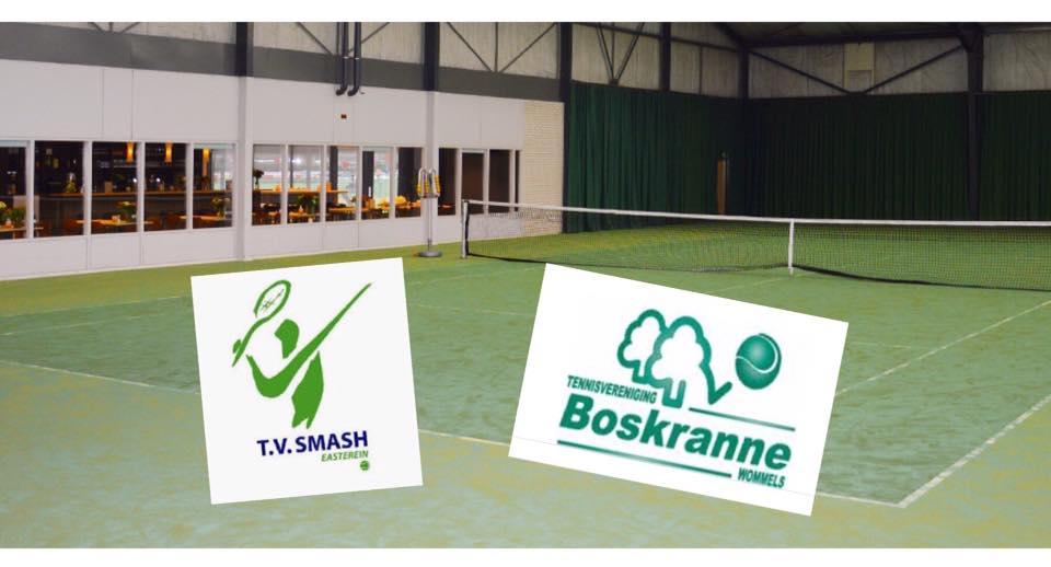 Gezellig wintertoernooi in tennishal in Sneek!