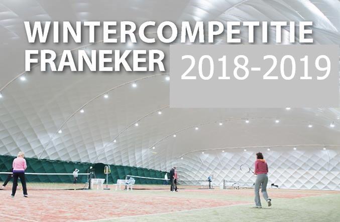 Wintercompetitie in de hal in Franeker