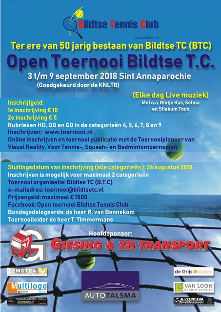 Open Toernooi Bildtse T.C.