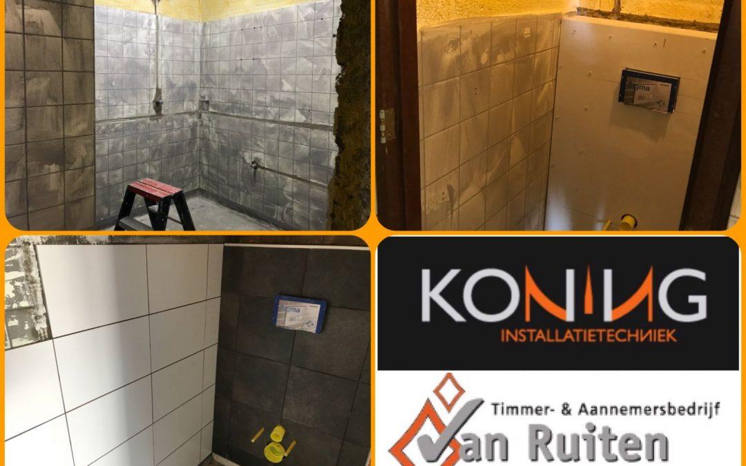 Renovatie douches en toiletten