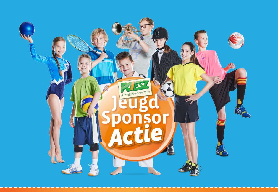 Poiesz jeugd sponsor actie!