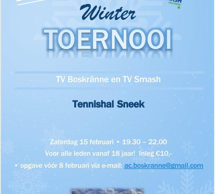 Wintertoernooi Smash en Boskranne