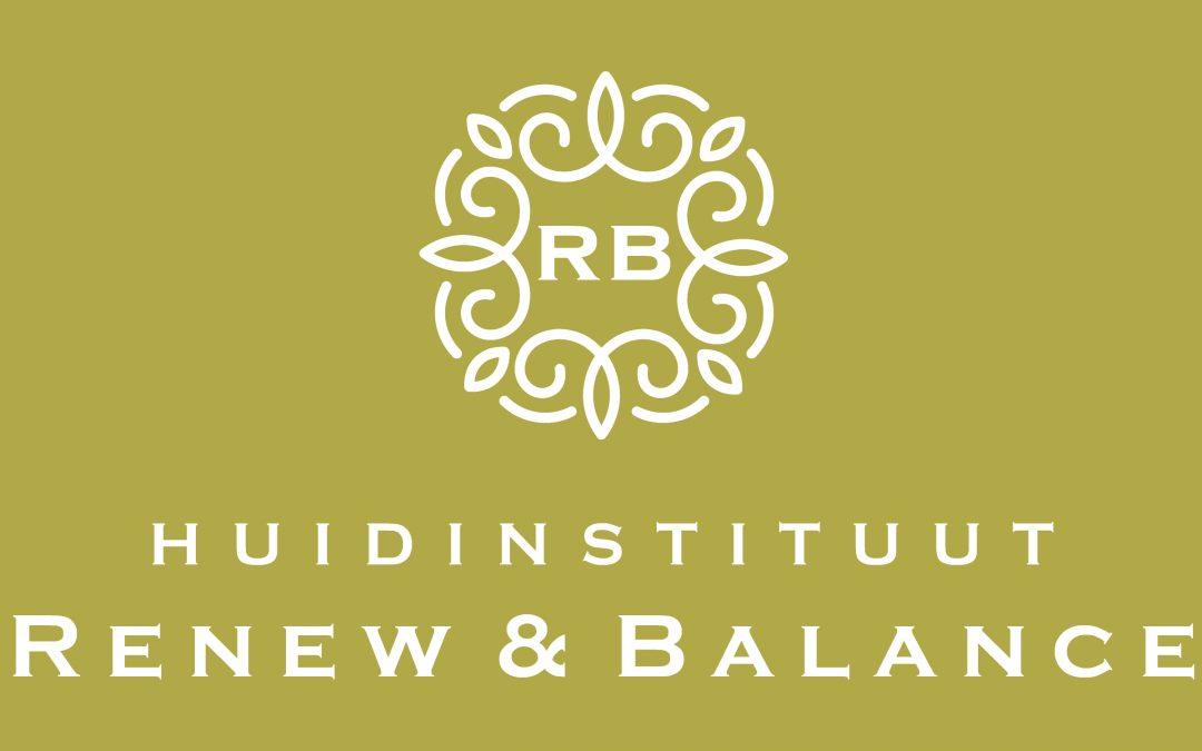 Nieuwe sponsor: Huidinstituut Renew & Balance