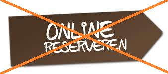 Reserveren niet meer nodig en gewone slot weer op het hek