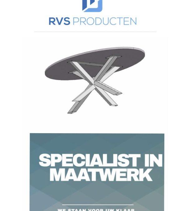 Nieuwe sponsor: RVS producten