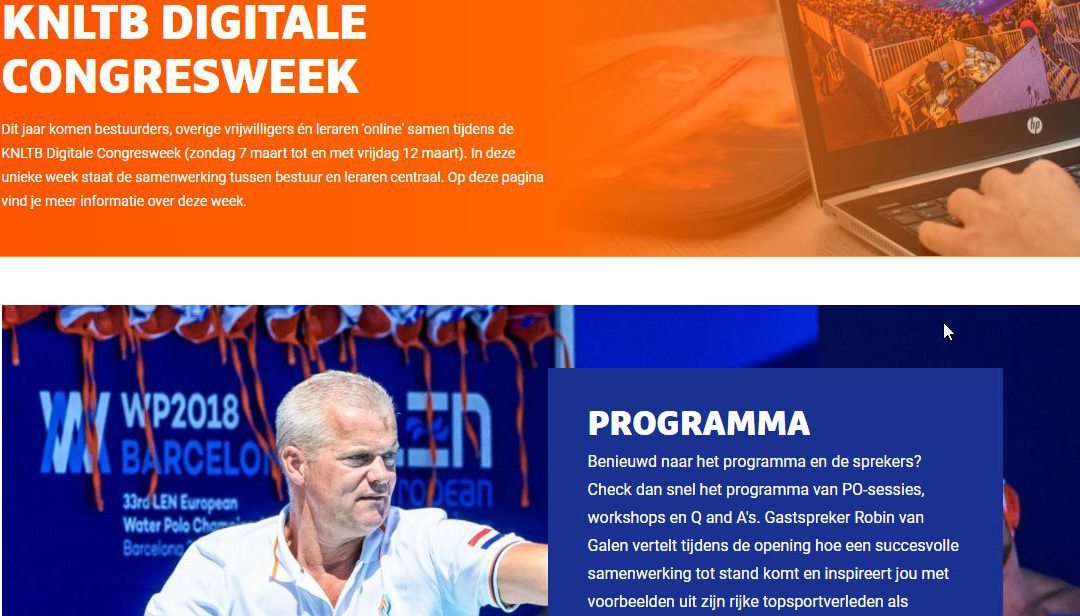 Digitale Congresweek KNLTB