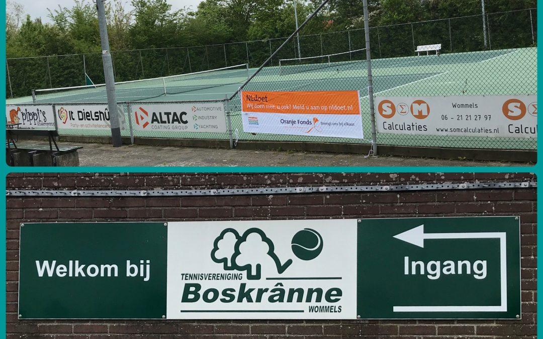 NL Doet op de tennisbaan