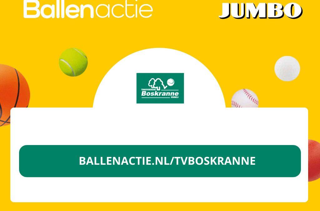 Leuke actie van Jumbo Wommels: doneer een bal