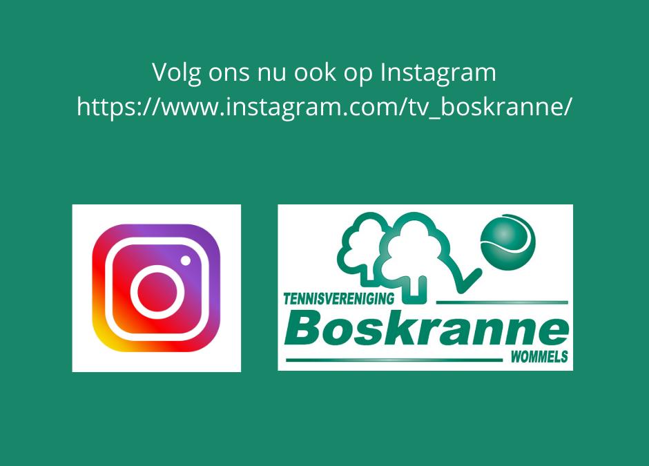 Volg ons nu ook op Instagram!